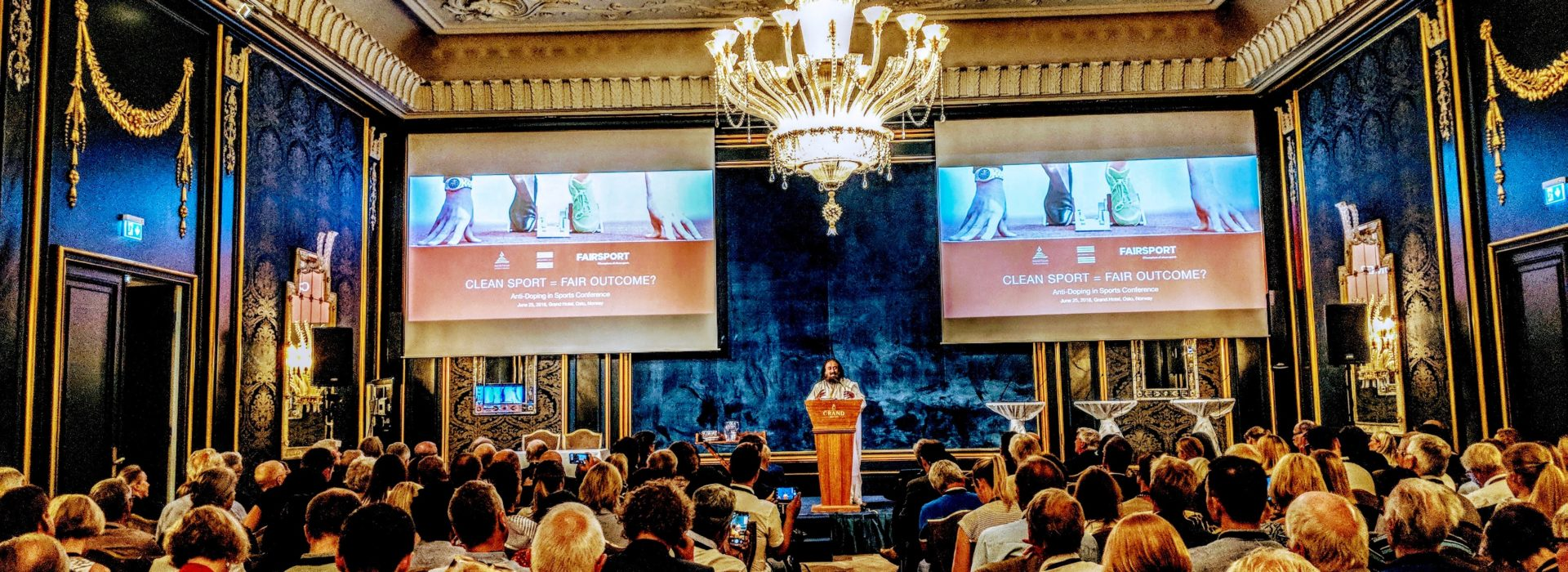 Global experts met during Anti-Doping in Sports Conference in Oslo